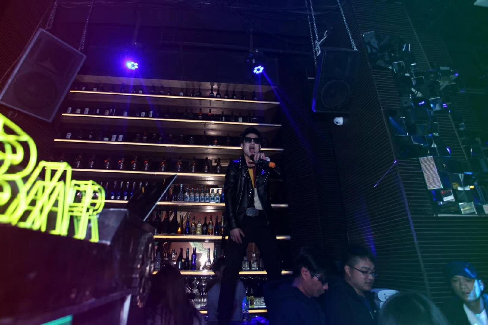 台山GT酒吧墙面吸音板效果图