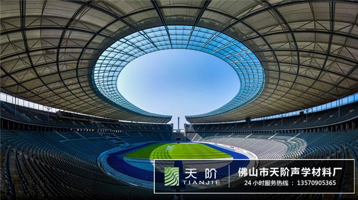 大型足球场馆声学吸音方案设计案例
