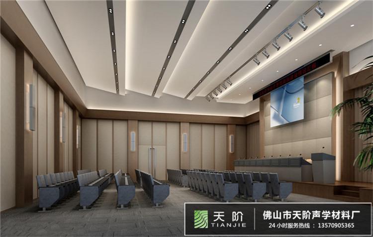 会议室声学吸音方案设计
